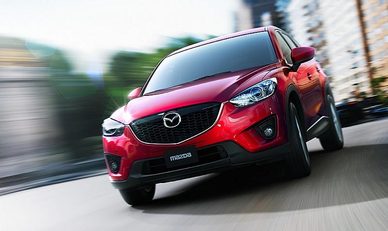 Mazda C-X5 sériovka